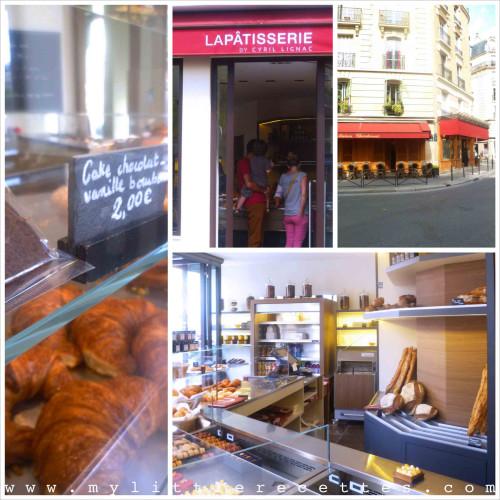 Testing estival à la Pâtisserie Cyril Lignac - 75011