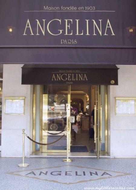 Angélina, chic et gourmandise par Christophe Appert