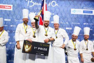 Tallinn, La Norvège remporte le Bocuse d'Or Europe