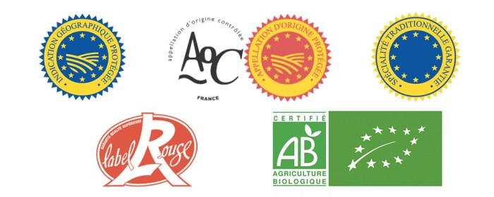 labels officiels