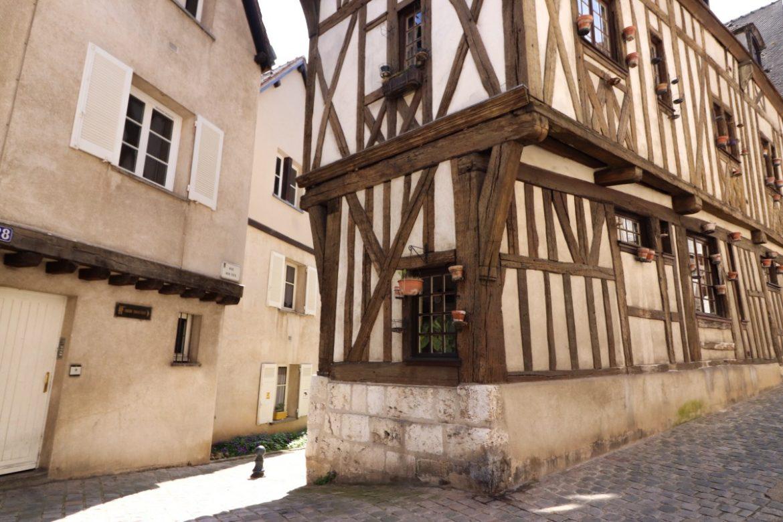 Maison Moyen Age Colombage Chartres Mylittleroad My