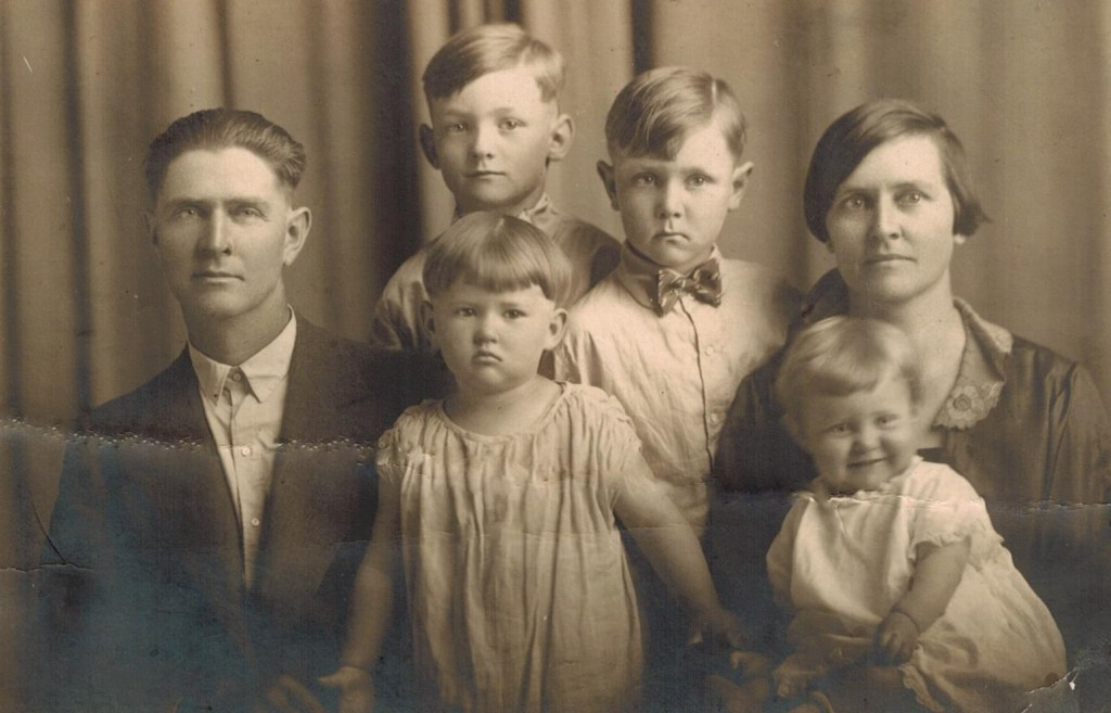 Keller family and Phil and Vernon (2)