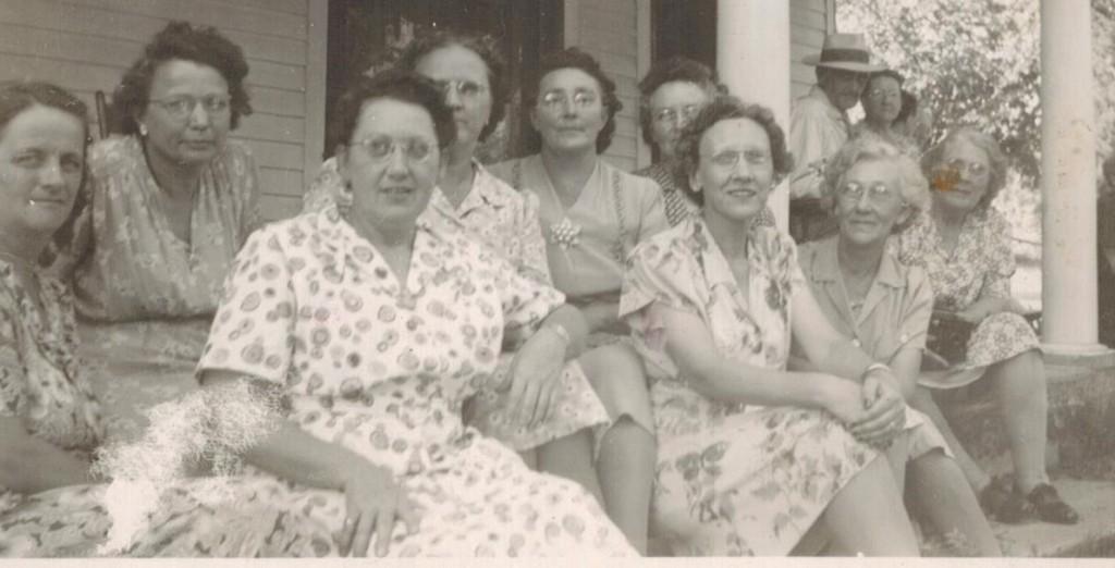 Sewing Circle 3 Aunt Mabel, Grandma and Elizabeth Houck