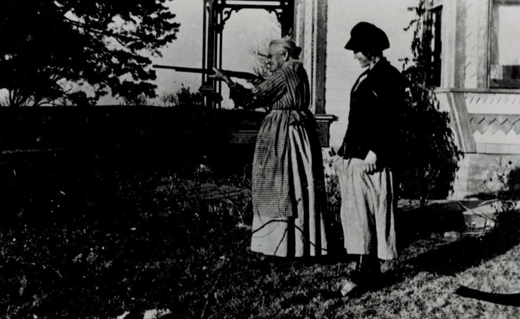 Granmda Ward and Emma