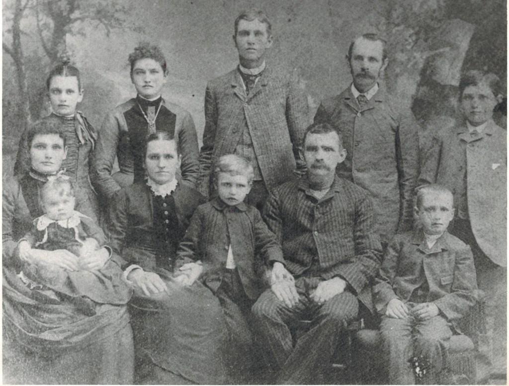 Ward Family 1890