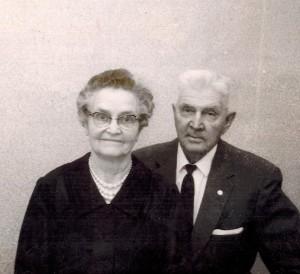 Grandma and Grandpa Keller