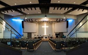 Living Hope's auditorium