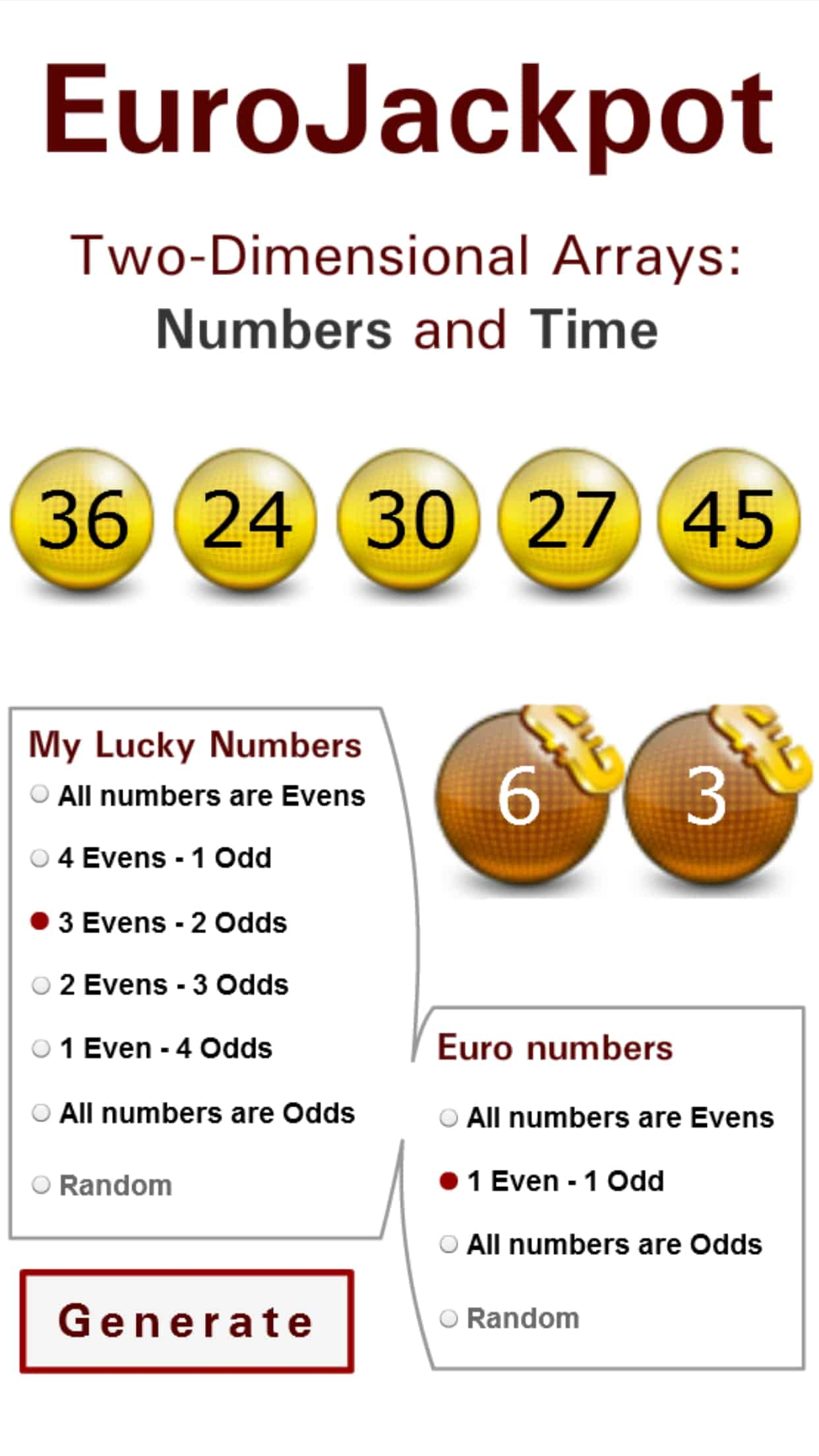 new lotto numbers