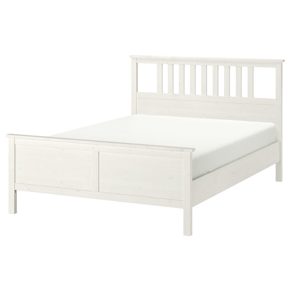 lit blanc à barreaux ikea hemnes