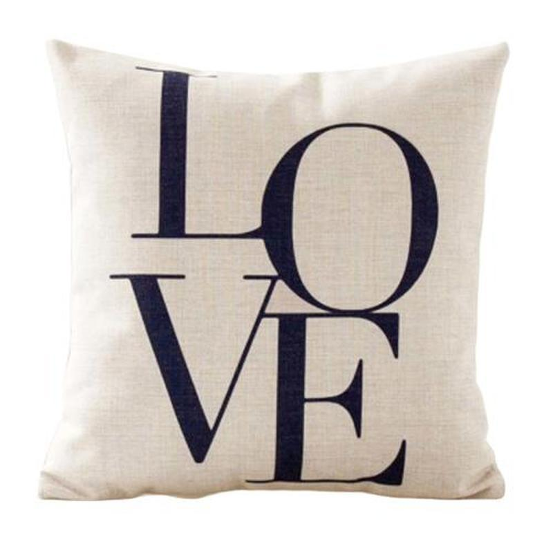 housse coussin love