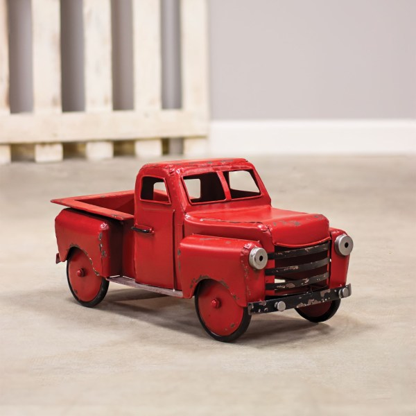 camion rouge de ferme