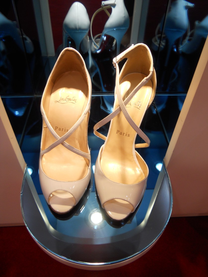 Finding my wedding shoes…