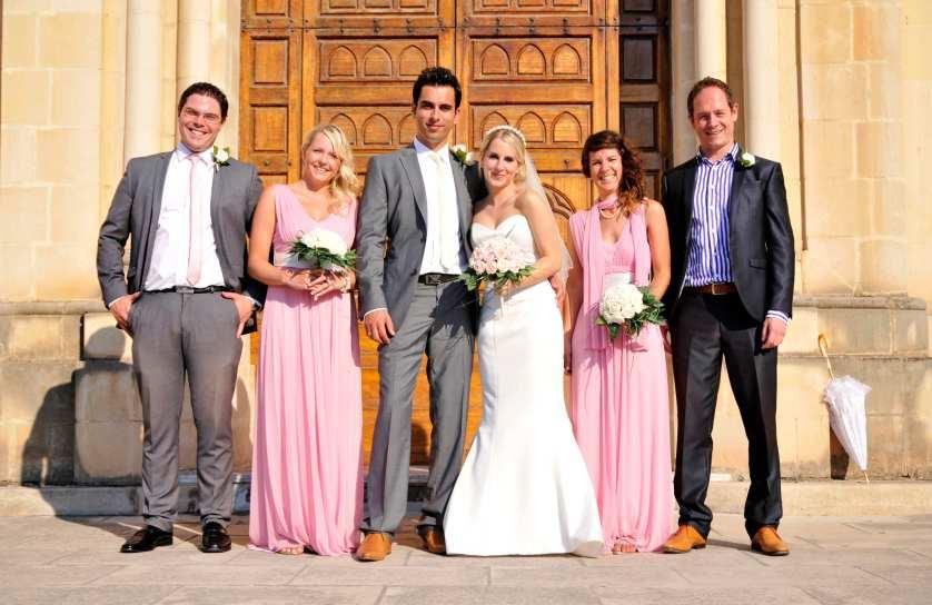 An elegant & intimate wedding in Malta ♥