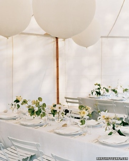 Balloon wedding decor… what do you think?