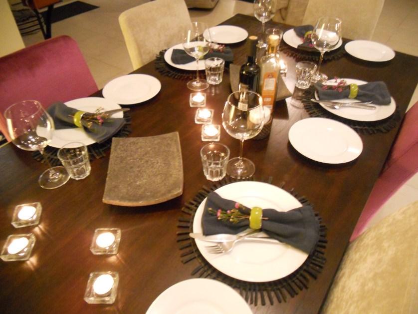 Part 2 Dinner decor & a few ideas…