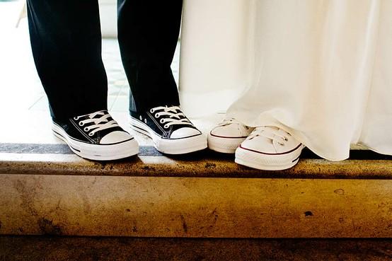 A Converse Wedding ♥