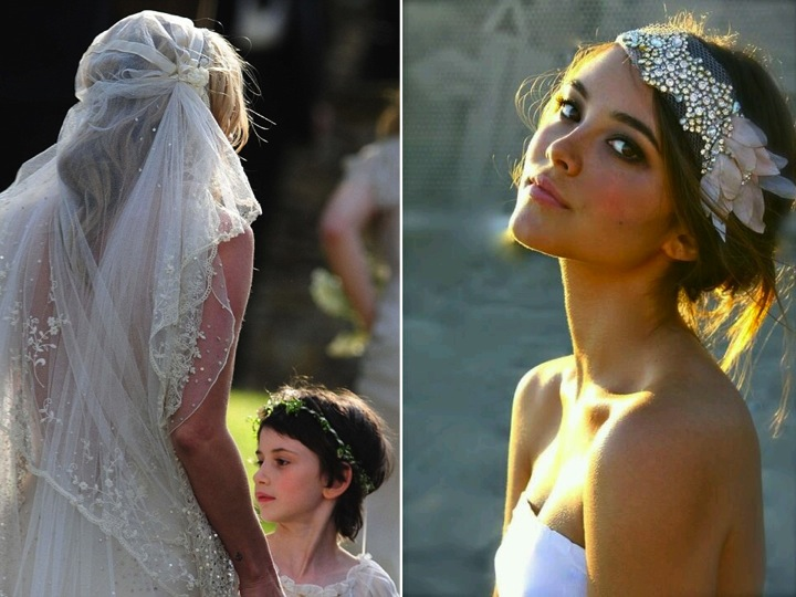 Wedding envy & the alternative veil…♥