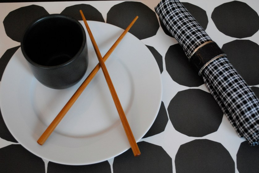 On trend with my lovely table decor ♥