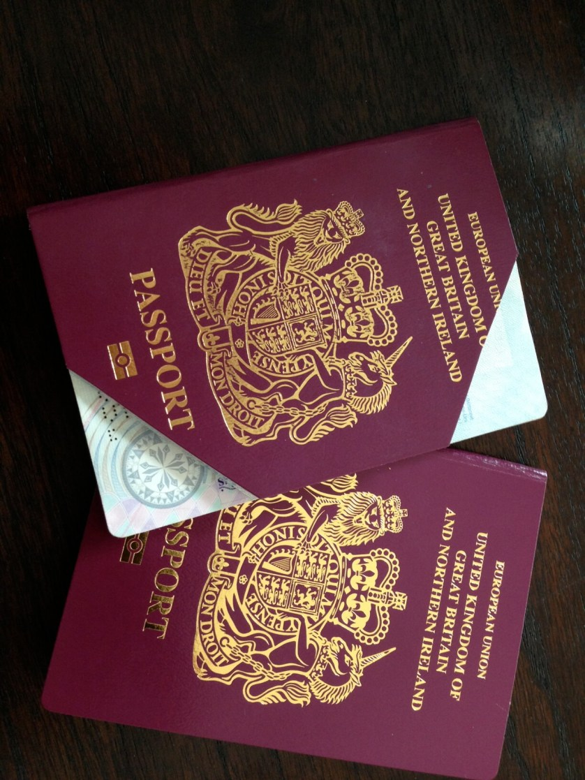 My passport says I'm officially a 'Mrs'…