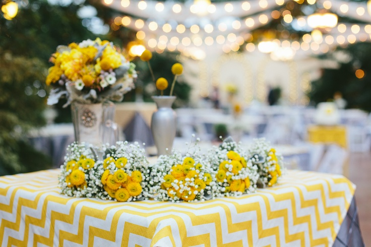 Mustard Yellow & Grey Wedding