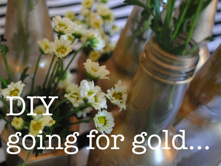 DIY GOING FOR GOLD ♥