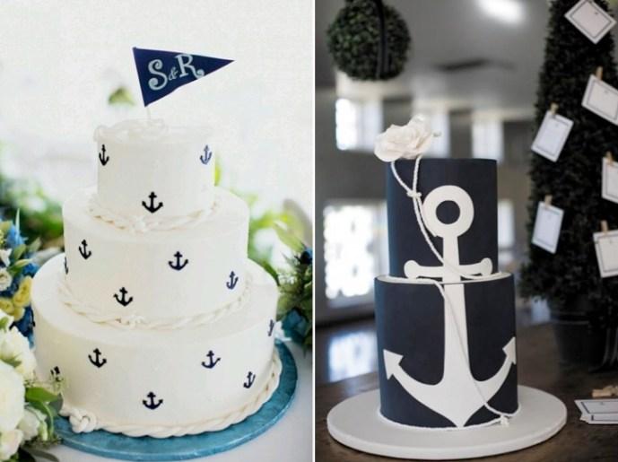 Nautical wedding theme