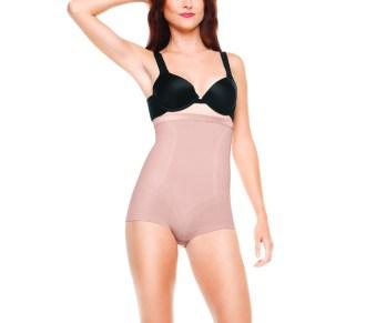 Slimmer & Shine High Waisted Body Tunic 1457_RoseGold Black_365AED.jpg