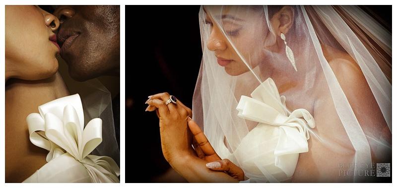 The Nigerian bride & her WOW wedding dress