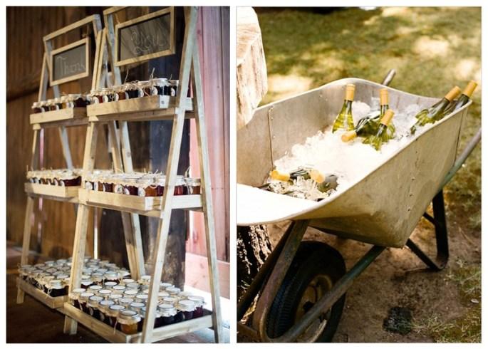 Rustic theme wedding ideas
