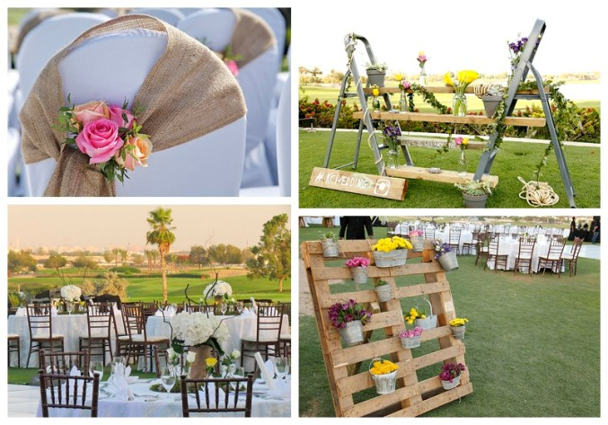 Rustic Chic @ Al Badia Golf Club