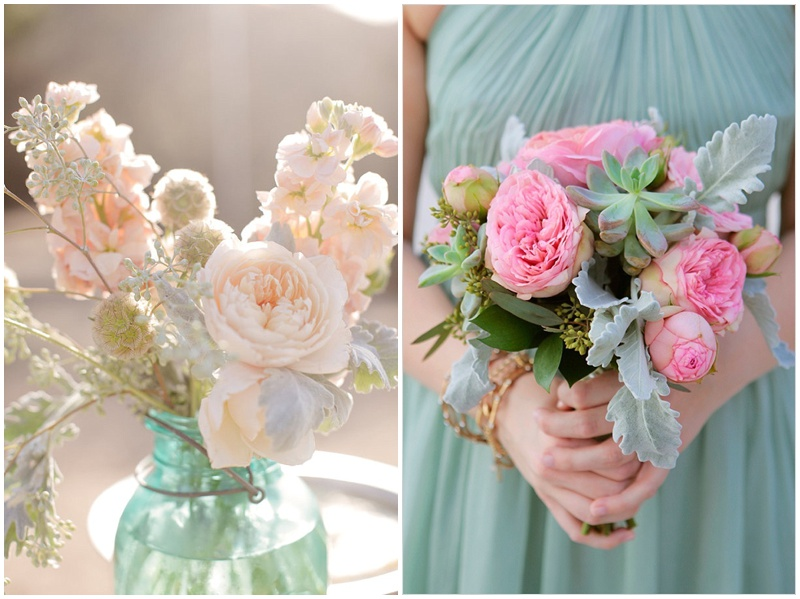 A hint of mint – {Wedding Inspiration}