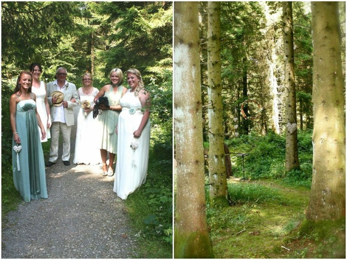 Crafted woodland wedding - UK