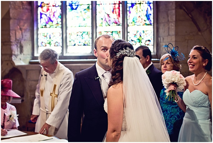 Bea & Chris - UK wedding featured on Dubai wedding blog. A Traditional wedding in Cheltenham, England.