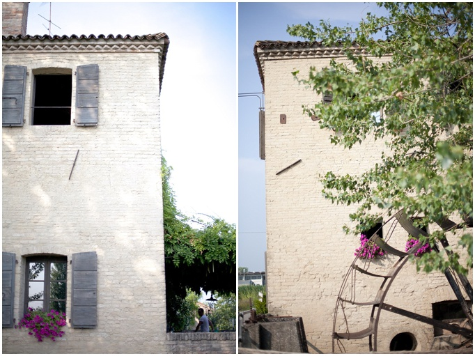 An intimate rustic wedding in Italy…