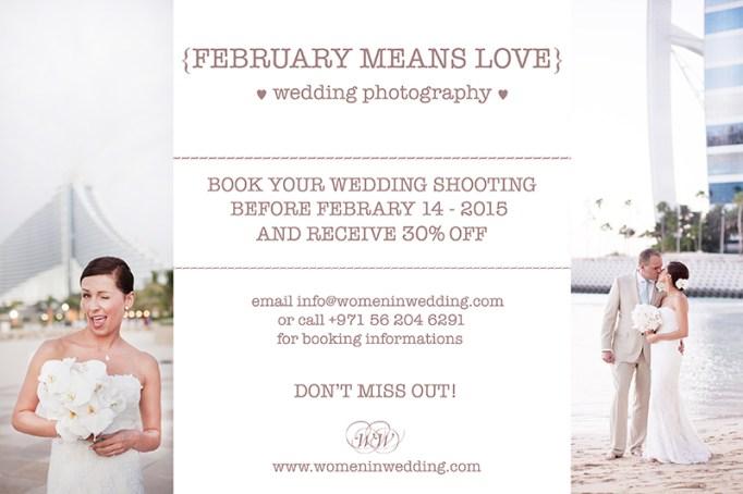 Women in Wedding FEBRUARY SALE