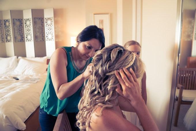 Boho bride - makeup tips by Monica