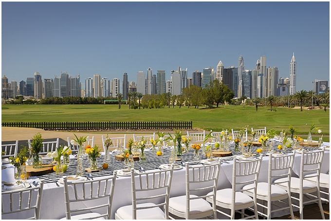 THE ADDRESS MONTGOMERIE DUBAI - STYLING & EVENTS