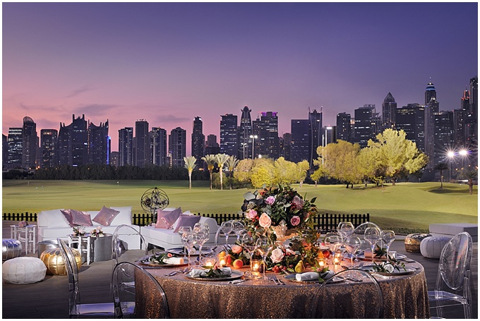 A round up of the most lovely weddings at The Address Montgomerie Dubai.