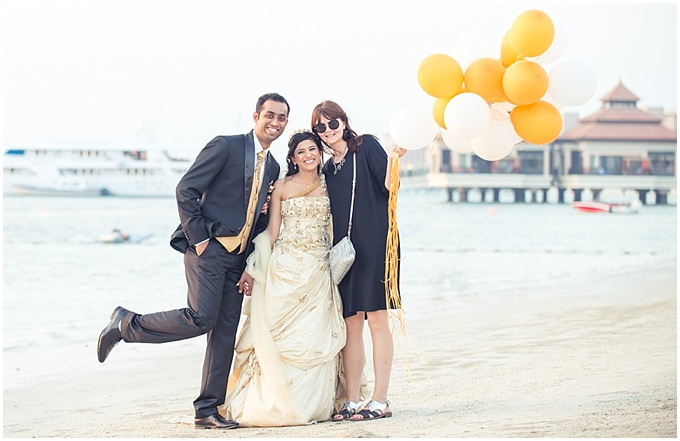 Bernard Richardson Photography - Styled post wedding shoot on The Palm