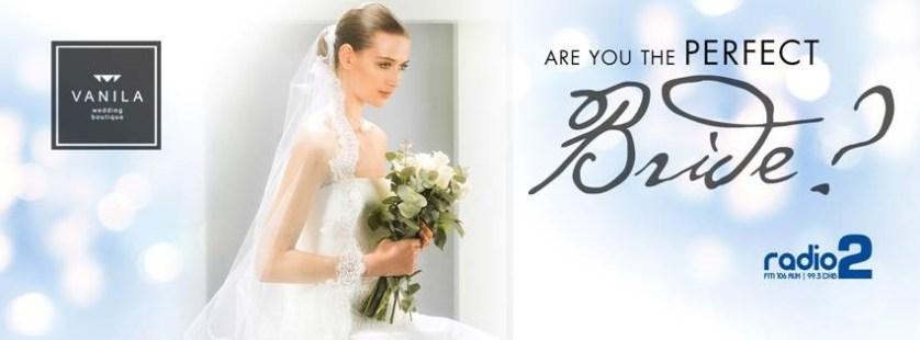 Win your wedding dress with Vanila Wedding Boutique & Radio 2 Dubai.