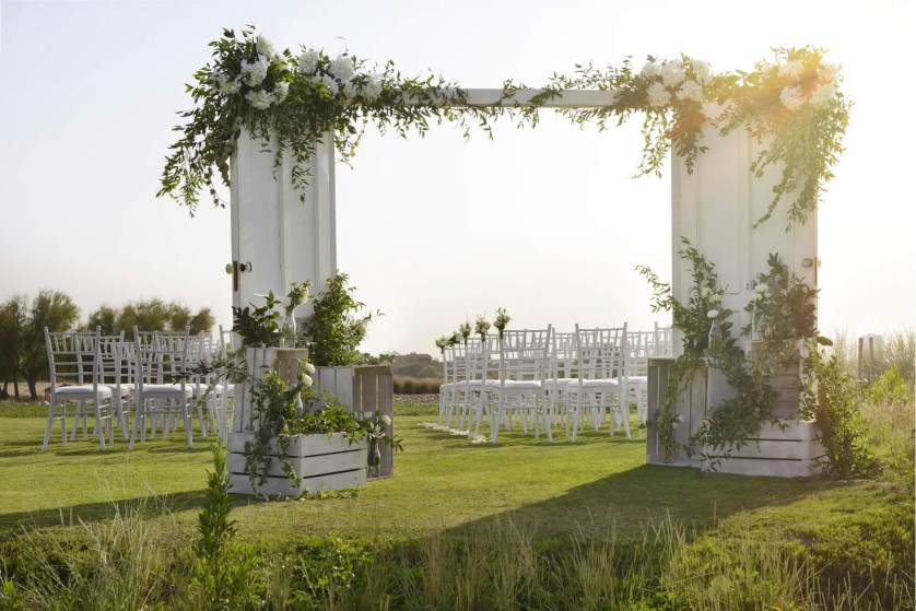 Waters Edge @ Arabian Ranches Golf Club – Another lovely outdoor wedding venue
