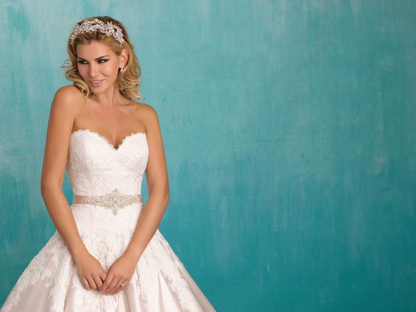Beautiful dresses…Allure Bridal 2016 Collection at The Bridal Showroom