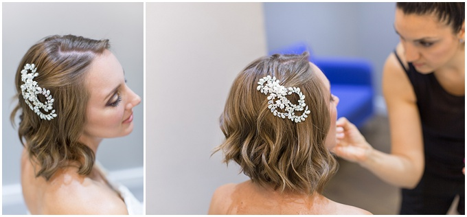 Beauty Inspiration - A bride with short hair