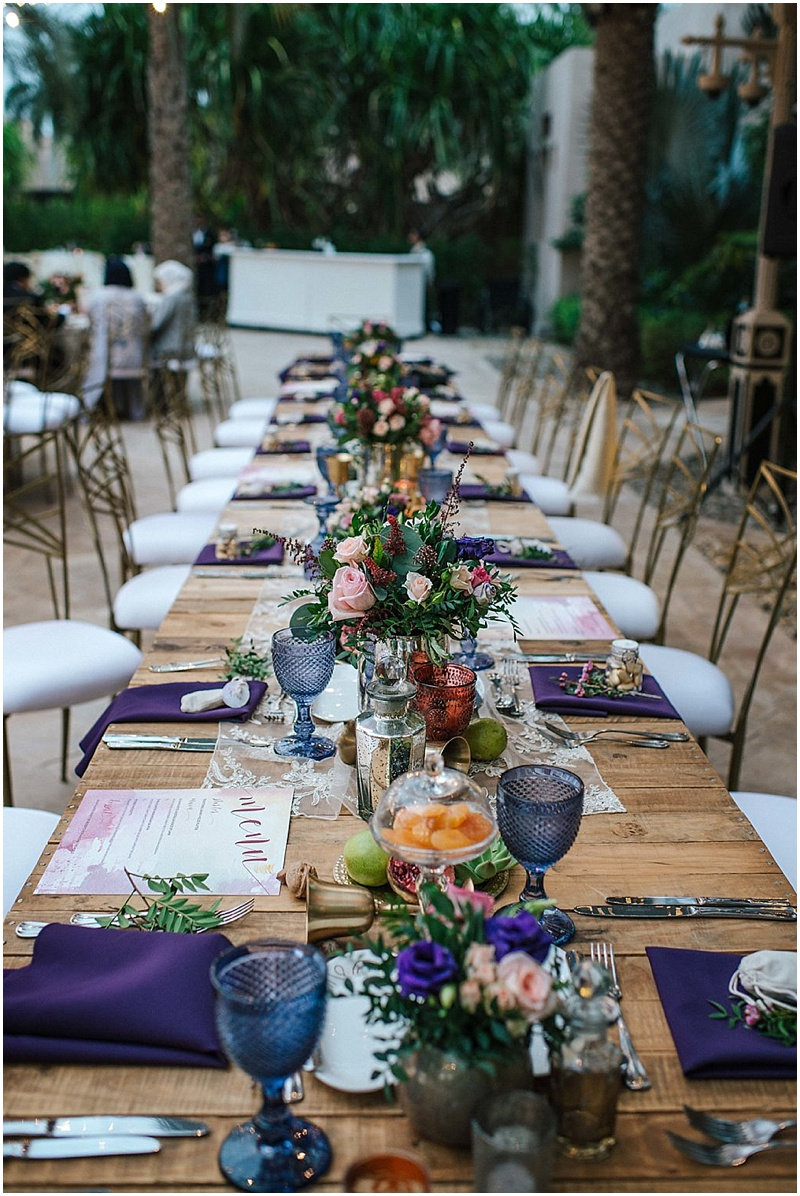 COLOURFUL WEDDING AT MAGNOLIA, AL QASR IN DUBAI - STYLING BY MY LOVELY WEDDING