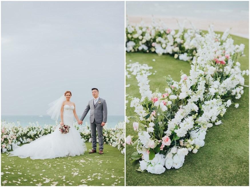 FLOOR ARCH WEDDING CEREMONY IN DUBAI