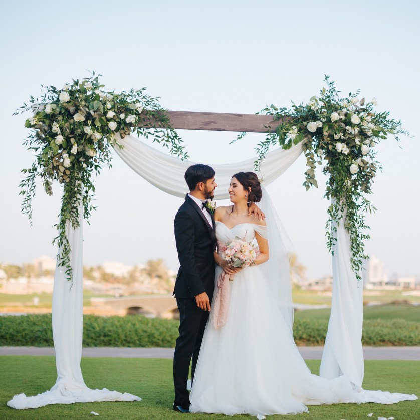 A sneak peek at Nadia + Ahmed's Lovely Wedding in Dubai