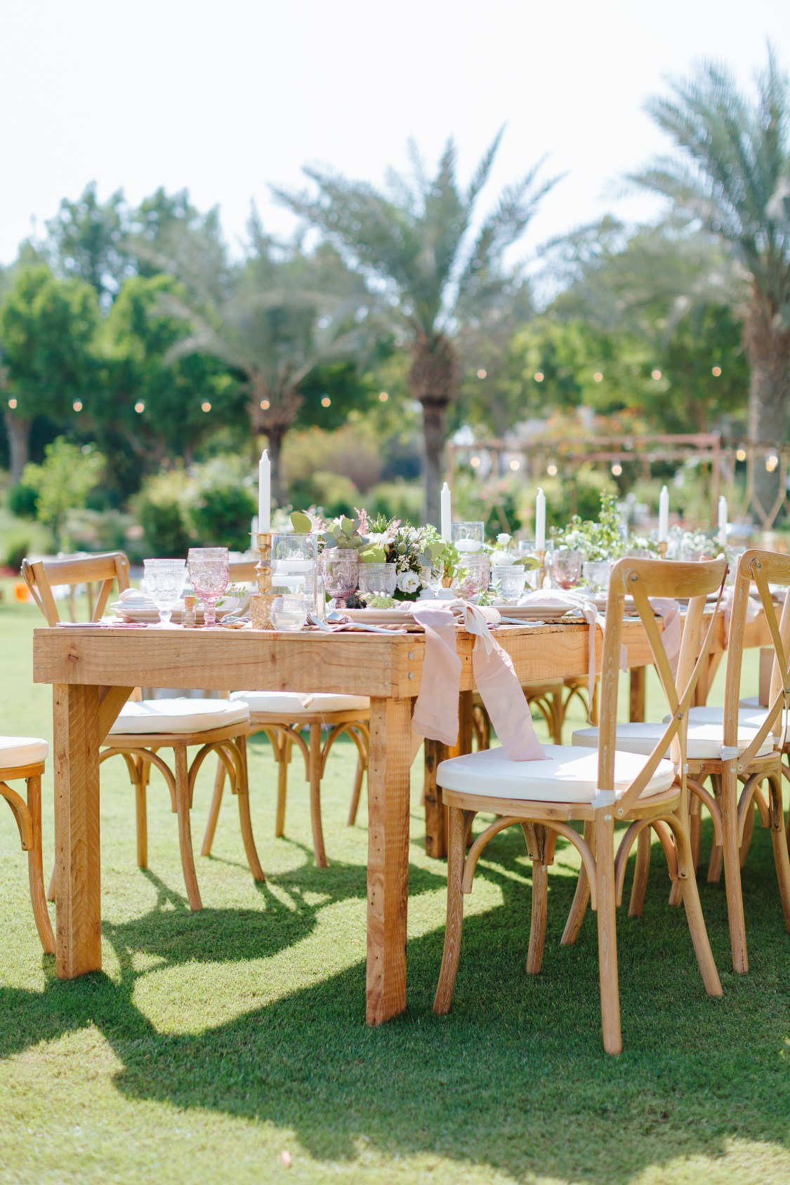 The Montgomerie Dubai - Wedding Styling and Decor
