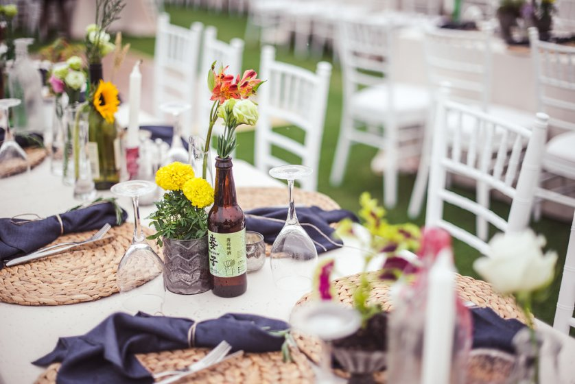 A sneak peek at Jay + Adam's wedding at Arabian Ranches Golf Club.