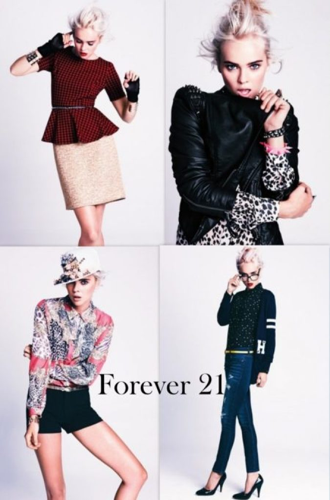 """Forever 21 Fall 2012 Lookbook"""