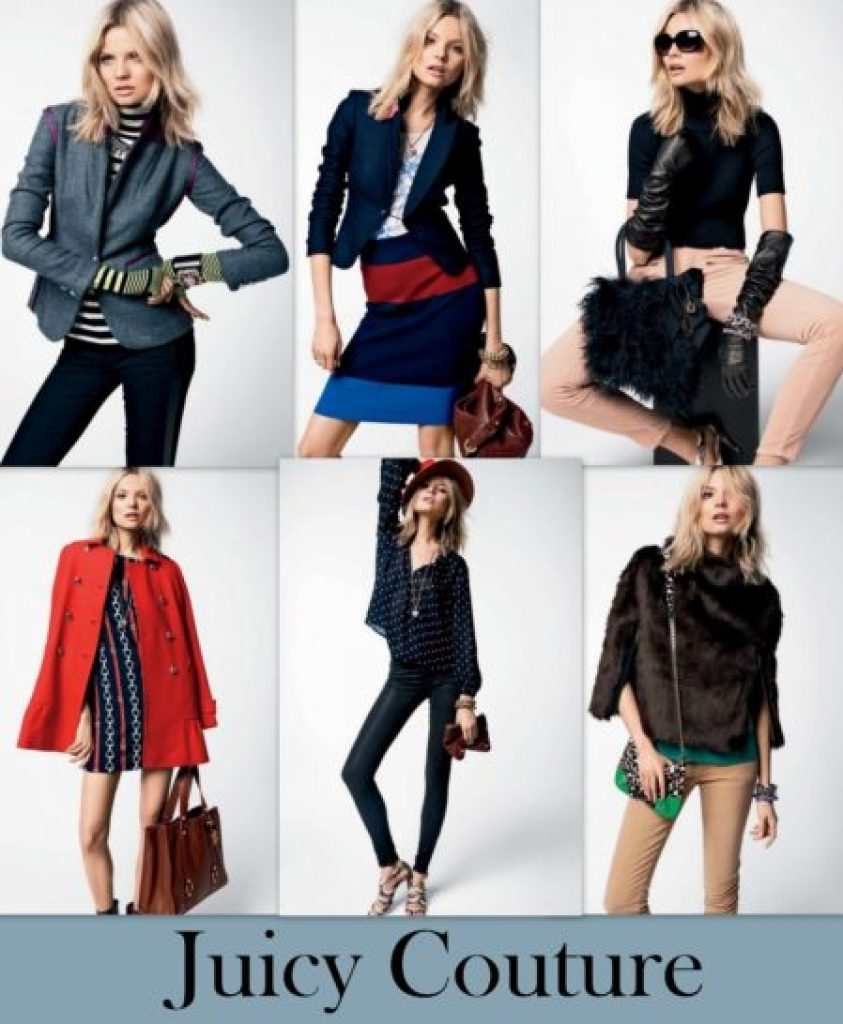 """Juicy Couture Fall 2012 Lookbook"""